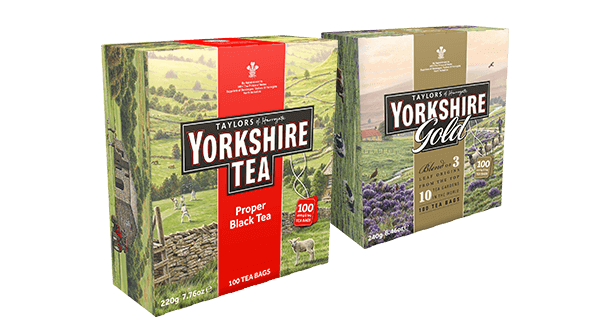 Yorkshire Gold and regular boxes